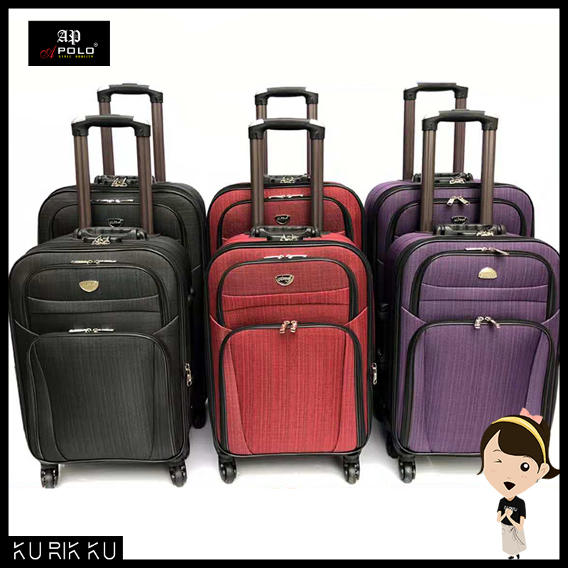 84537b1e6 Apolo MD-236 Expandable Supper Light Weight Travel Luggage Trolley