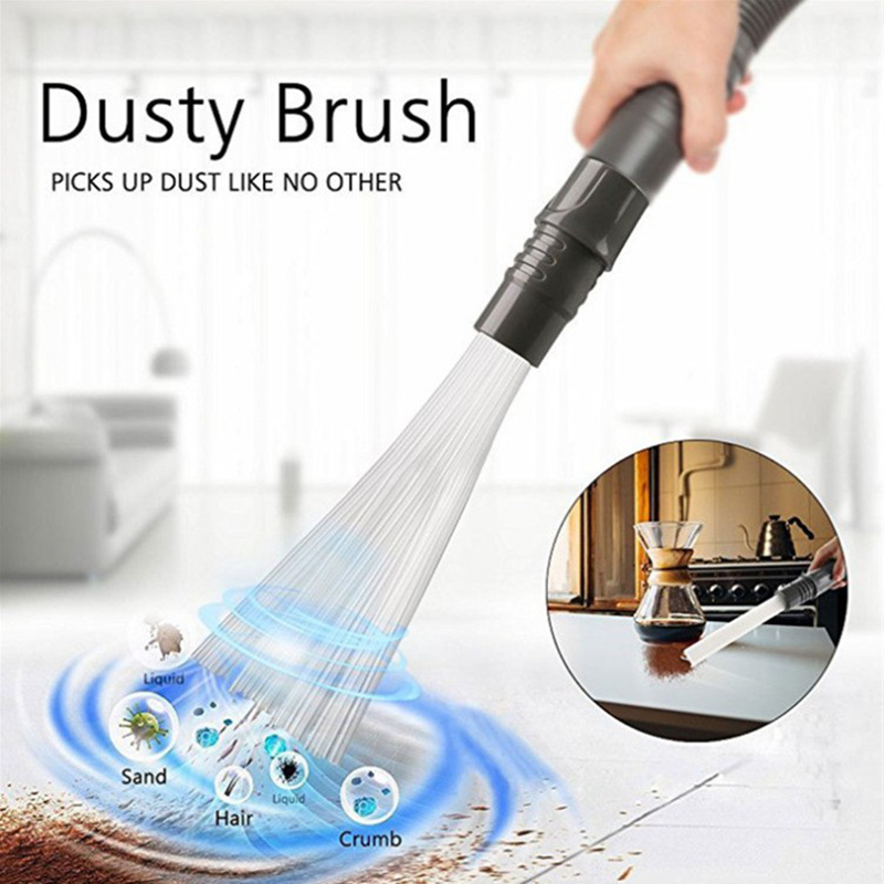 Dust Daddy Brush Cleaner Dirt Remover Portable Universal Vacuum Attachment Tools
