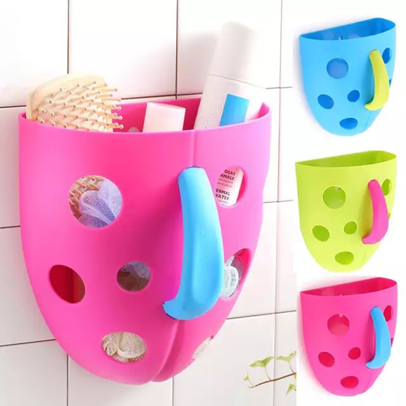 Baby Bath Toys Organizer Scoop Bath Toys Storage Bins for Toddler Hanging Basket