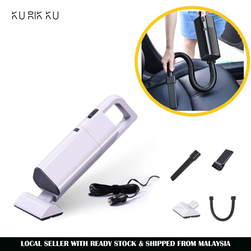 Handheld Car Cyclone Vacuum Cleaner 4000pa 60W Corded Auto Pet Hair Dust Cleaning