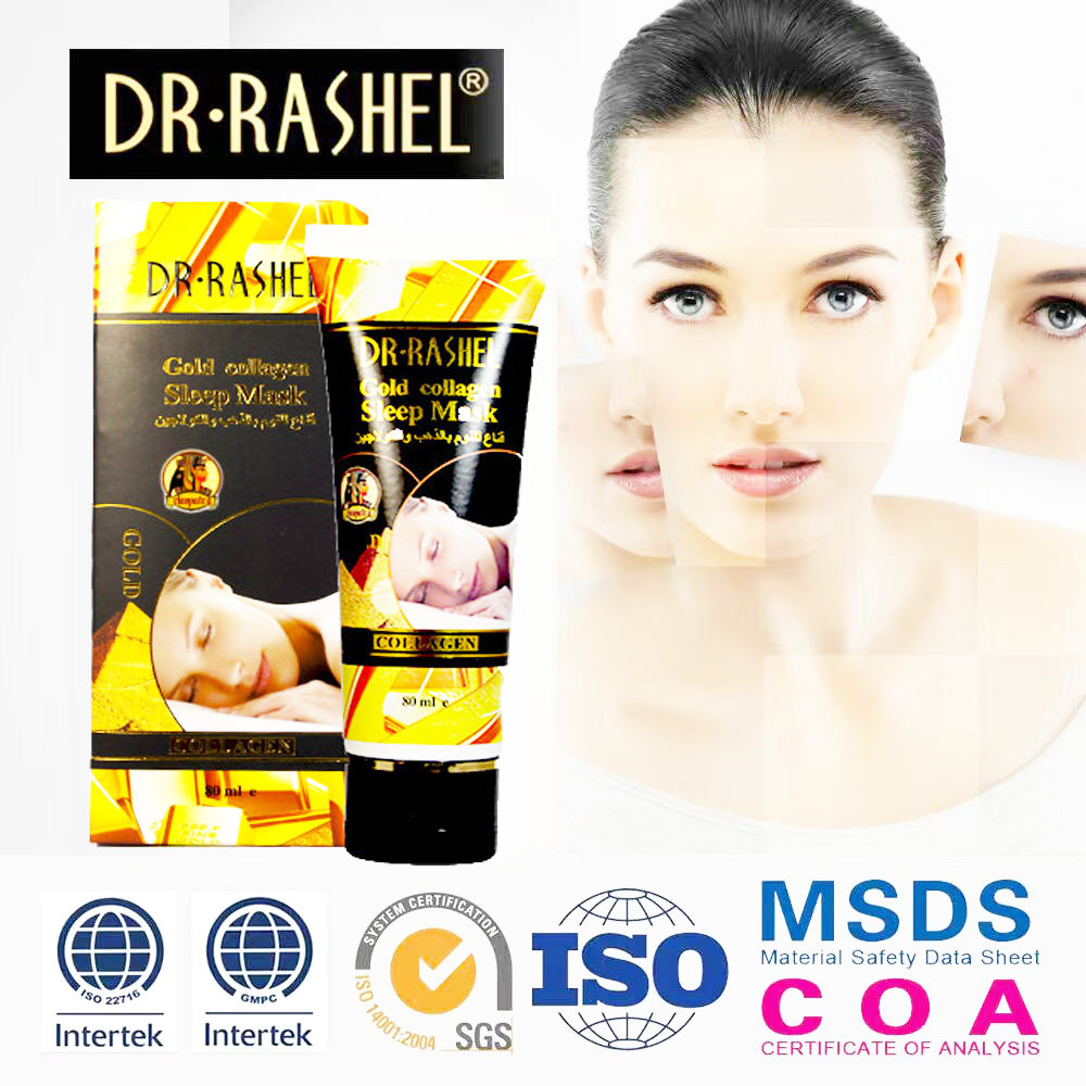 DR-RASHEL Gold Collagen Sleeping Mask  80ml