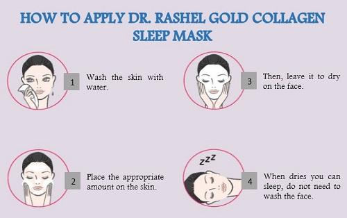 DR-RASHEL Gold Collagen Sleeping Mask  80ml