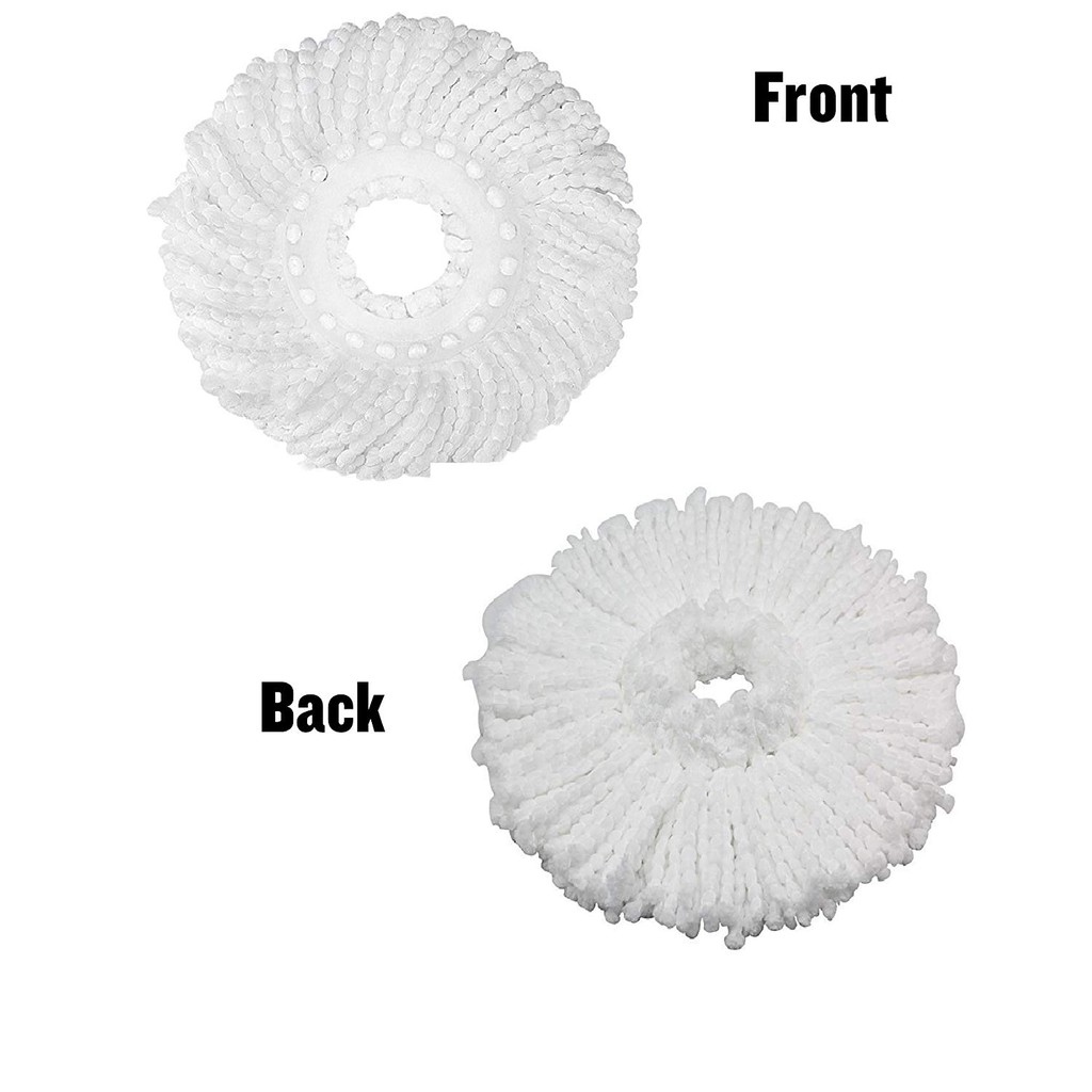 Easy Spin Mop Head Microfiber Cloth Refill 1pc