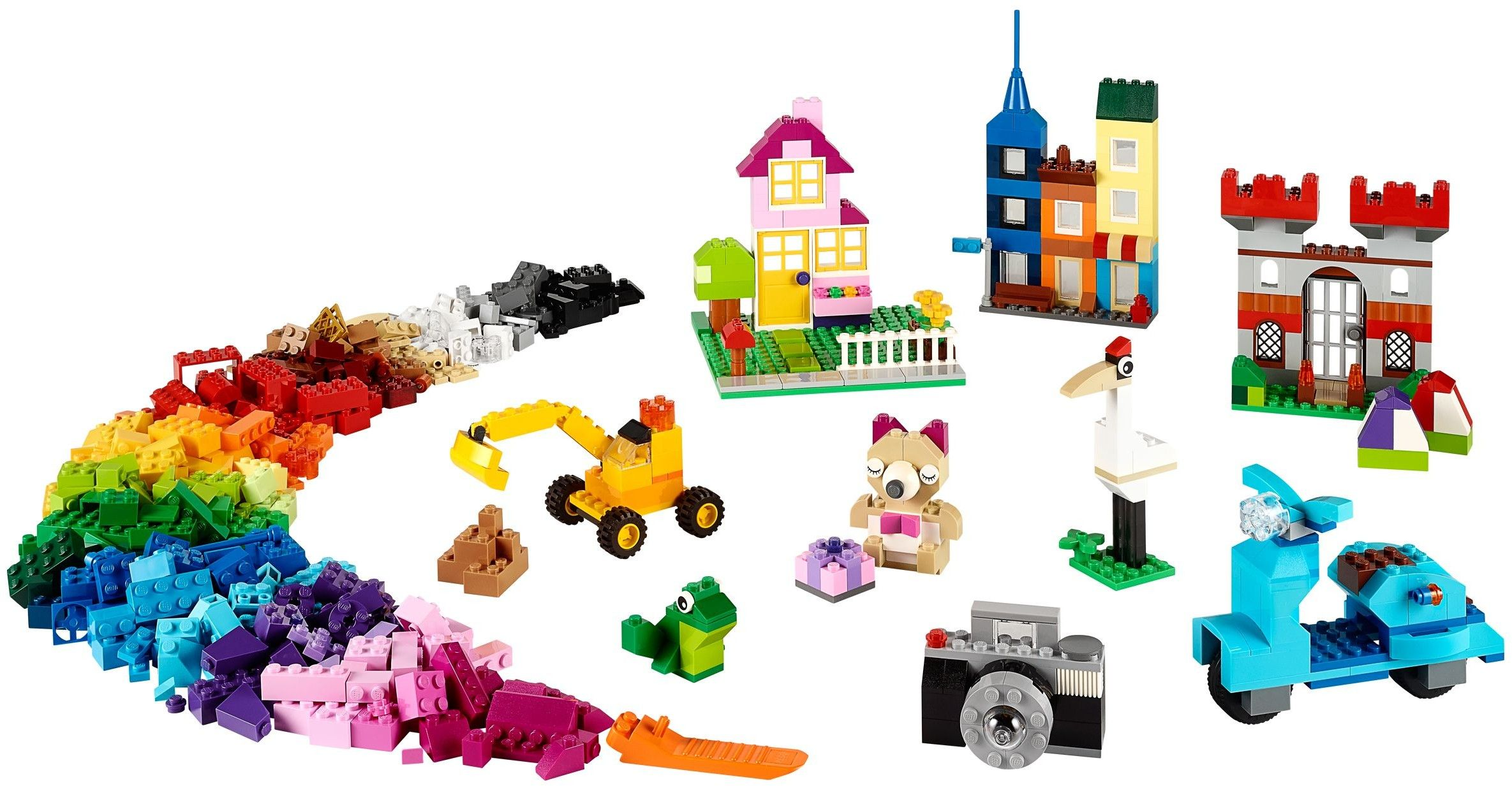 Lepin 42011 Builerds Building Block Toy 1105pcs