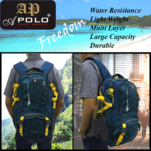 APOLO 12428HS 30L TRAVEL AND OUTDOOR BACKPACK