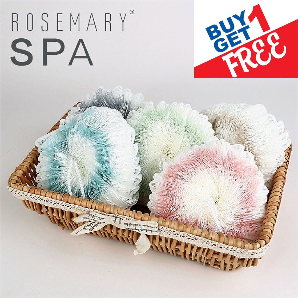 Buy 1 Get 1 Free Rosemary Spa Sponge Body Shower Body Cleaner