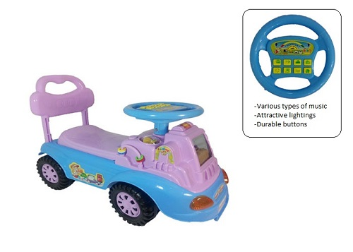 QX4327 Veego Happy Angel Kids Push Car (Purple)