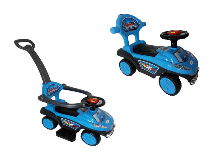 Q03-3 Veego 2-In-1 Suv Toycar Kid Posh Car(Blue)