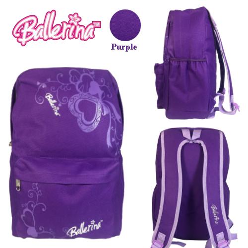 BALLERINA 12457HS SCHOOL BAG/ LEISURE/ TRAVEL BACKPACK