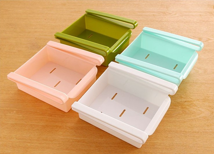 Multi Purpose Refrigerator Storage Box Organiser Drawer Food Kitchen