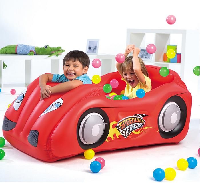 BESTWAY INFLATE KIDS RACE CAR