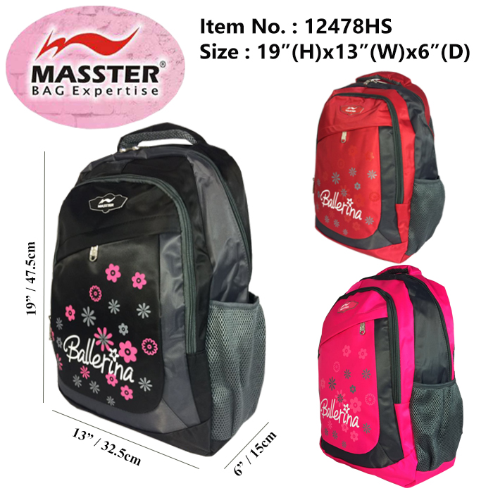 Masster 12478HS School Bag/ Leisure/ Travel Backpack