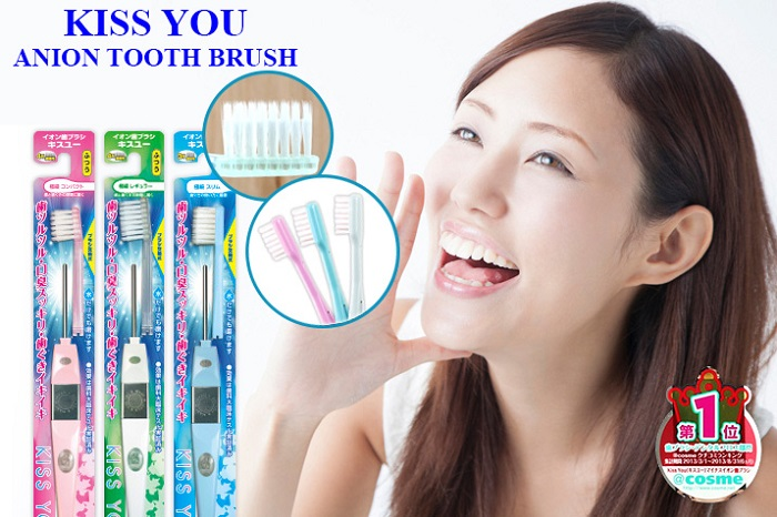 Ion Power Kiss You Compact Fine Toothbrush