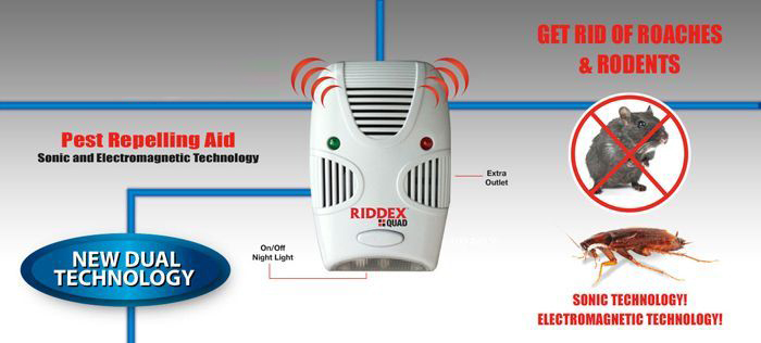 Riooex Quad Pest Repeller Aid