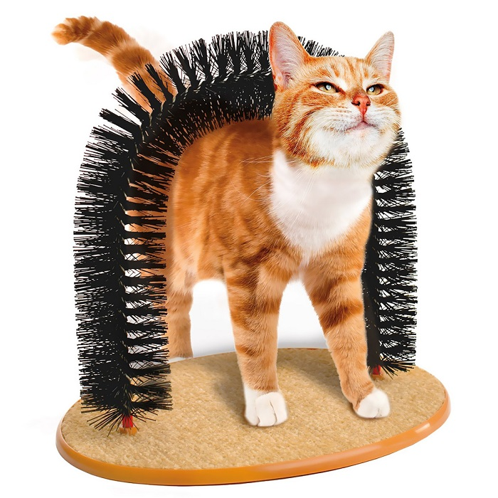 Kitty Cat Purrfect Arch Self-Groomer and Massager All in One