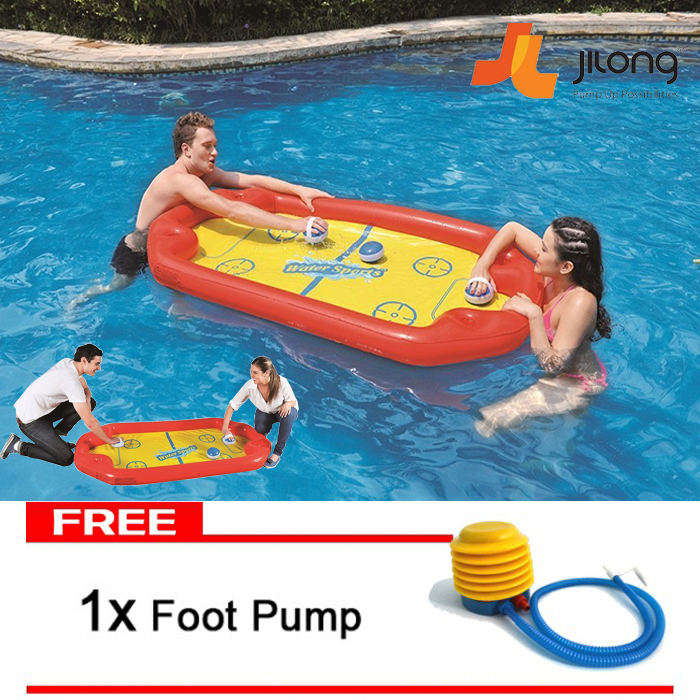 Jilong Inflatable Swimming Pool Air Hockey Water Sport Game