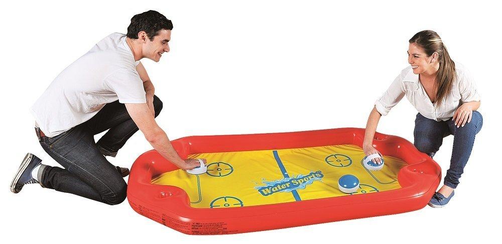 Jilong Inflatable Swimming Pool Air Hockey Water Sport Game