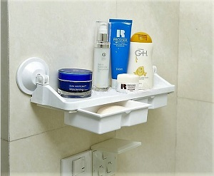 Vitsunhoo Suction Cup Multifunctional Storage Racks R3290