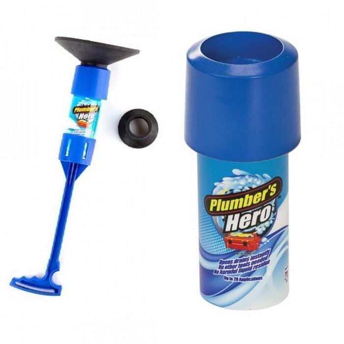 Plumber's Hero Drain Unclogging Kit
