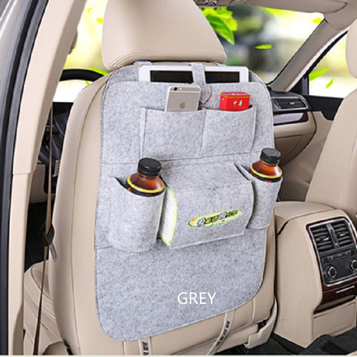 Car Seat Back Multi-Pocket Storage Bag Organizer Holder Accessory