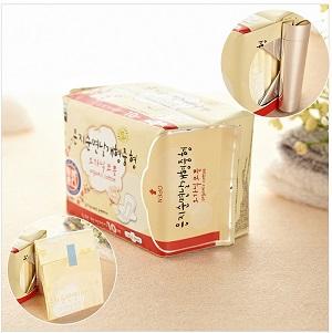 Eunjee Organic Pure Cotton Cover Pure Sanitary Pad (250mm) 10pcs