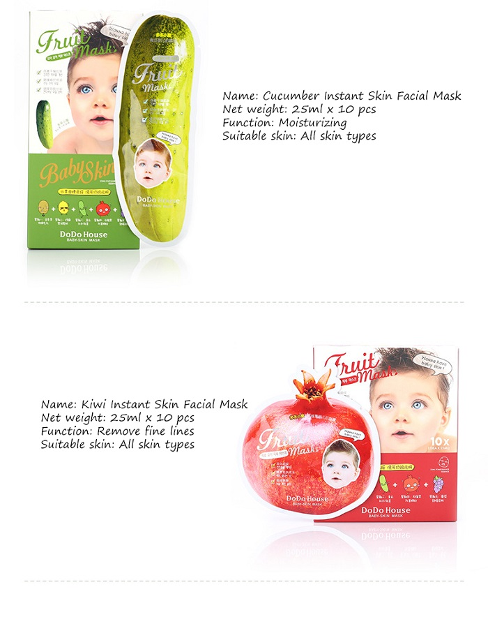 DoDo House Baby Skin Fruit Mask