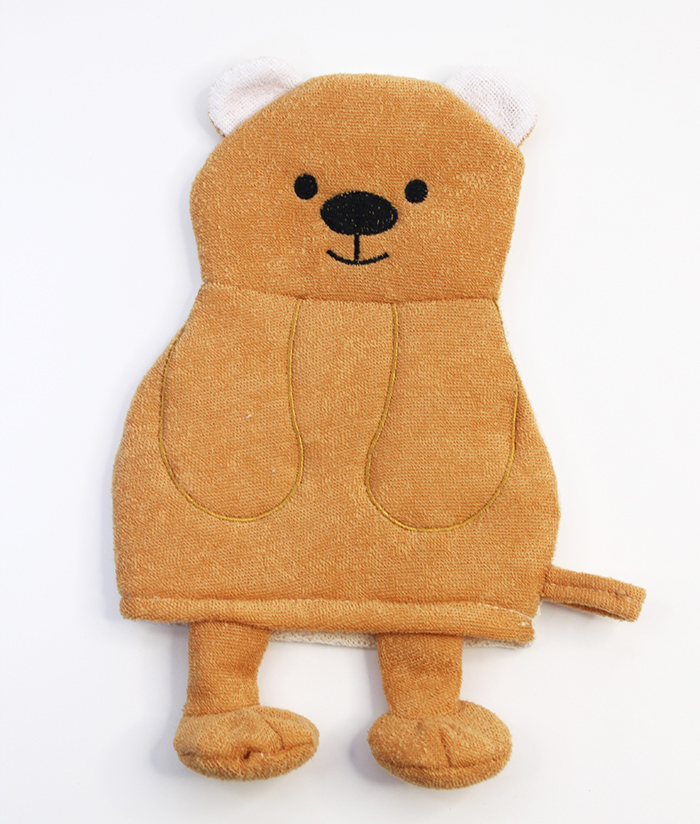 Rosemary Bear Puppets Bath Scrubber Glove