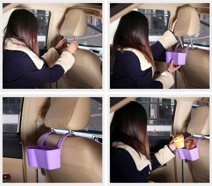 Car Back Seat Storage