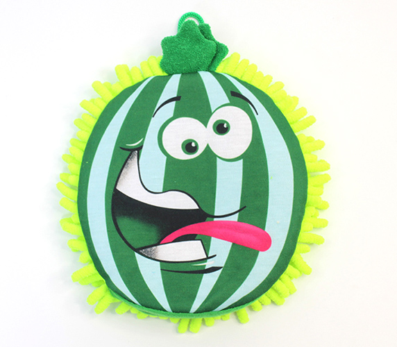 Rosemary Watermelon Puppets Bath Glove