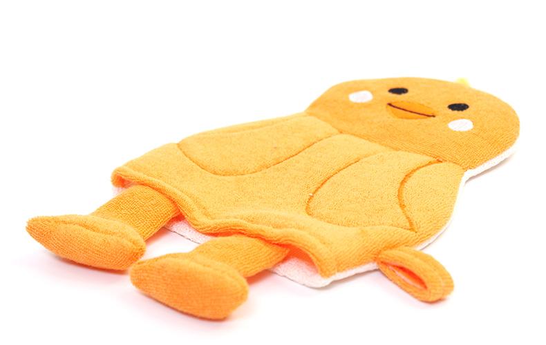 Rosemary Little Chicken Puppets Bath Scrubber Glove