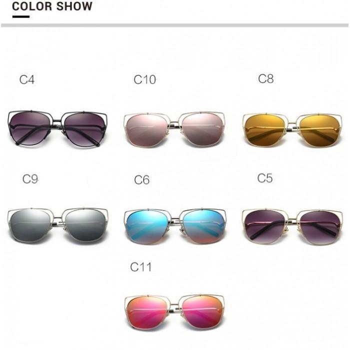 97210 Korea Design Metal Men Sunglasses