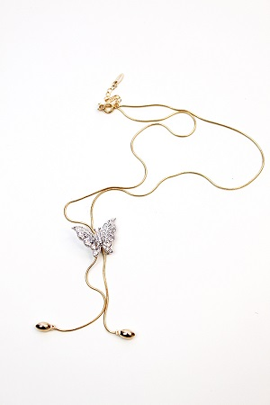 Diva Butterfly Adjustable Necklaces