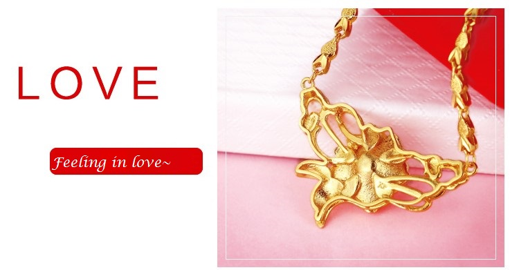 Oriental Flower Dokoh Necklaces