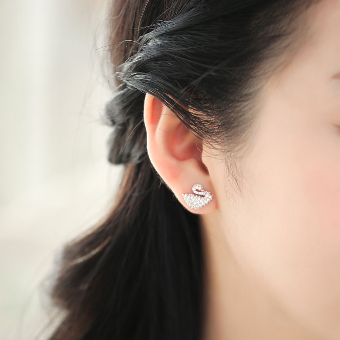 Little Swan Earrings