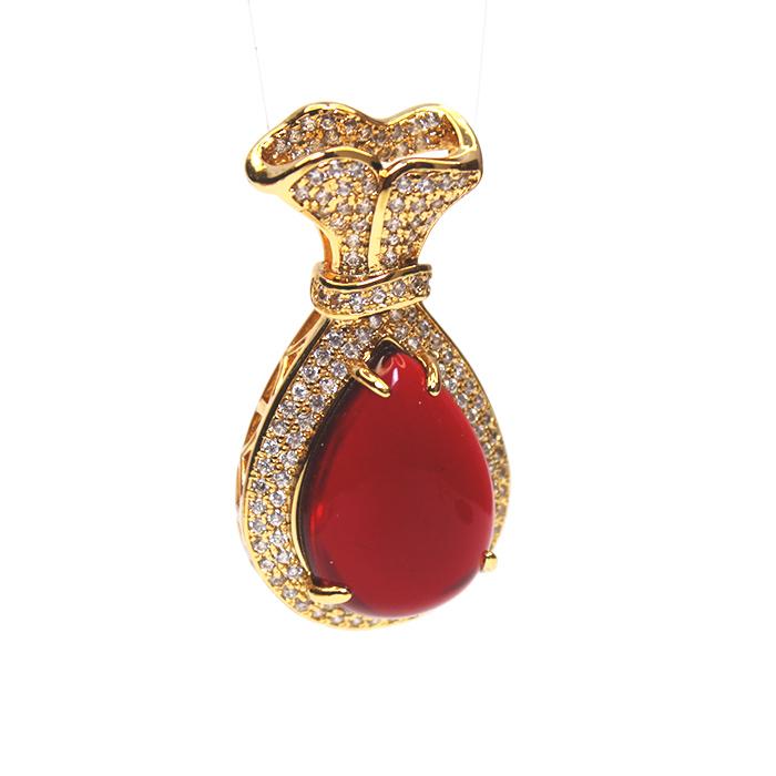 Ruby Treasure Pendant