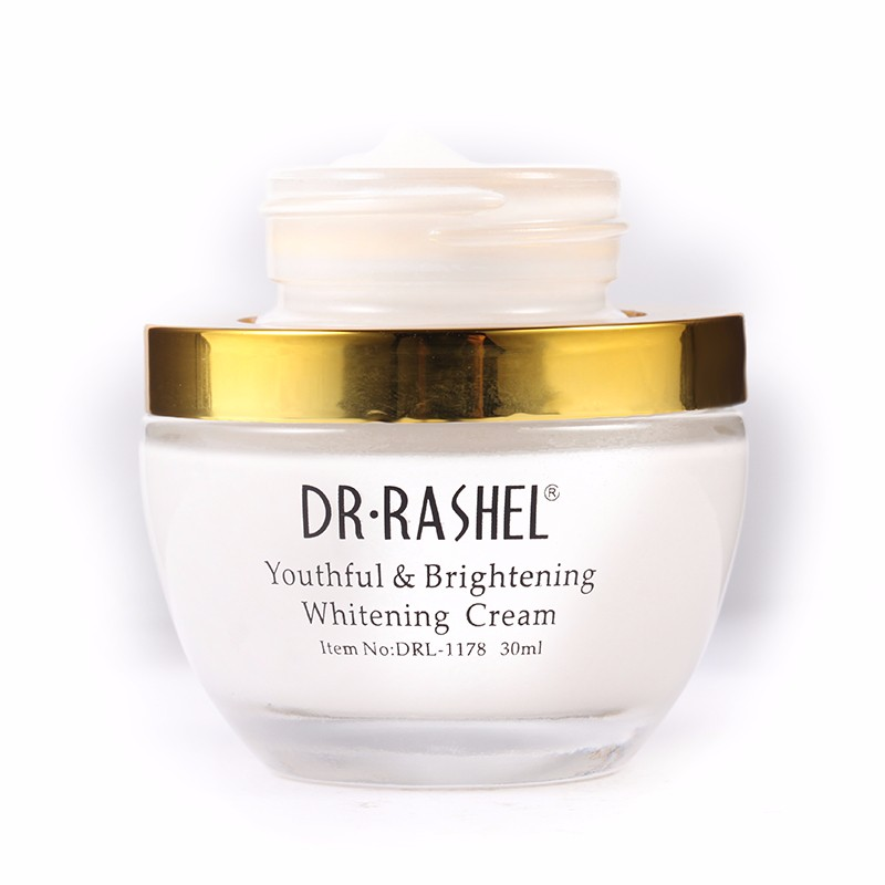 DR-RASHEL 24K Youthful & Brigthening Whitening Cream With Real Gold Atoms & Collagen