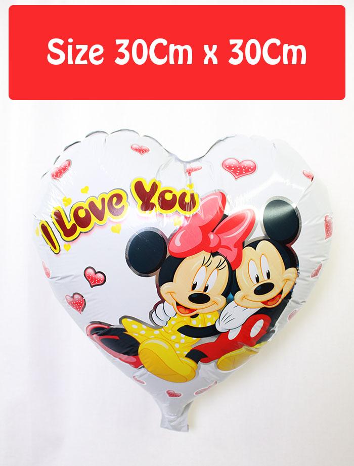 Valentine's Day Large Foil Balloon Love (30cm)