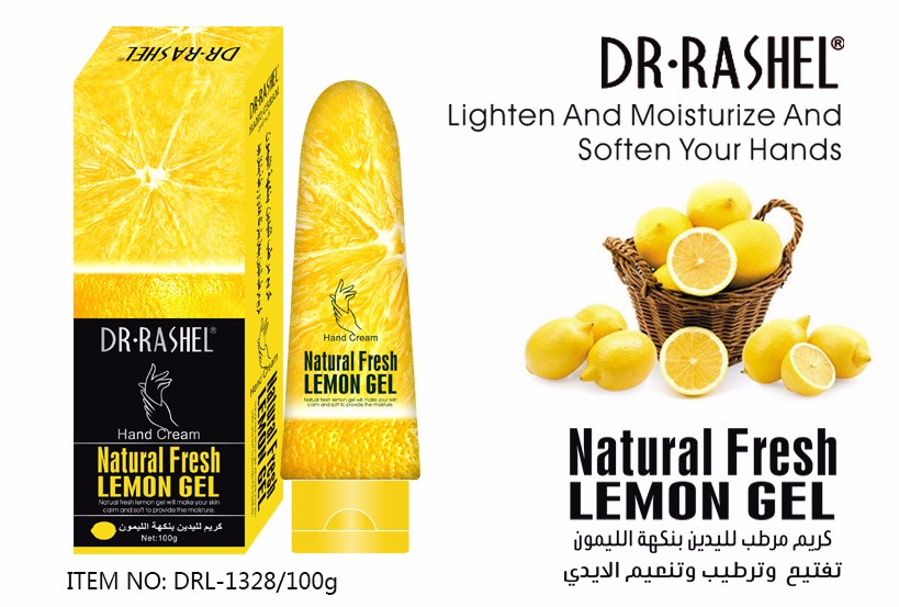 DR-RASHEL Hand Cream Natural Fresh Lemon Gel