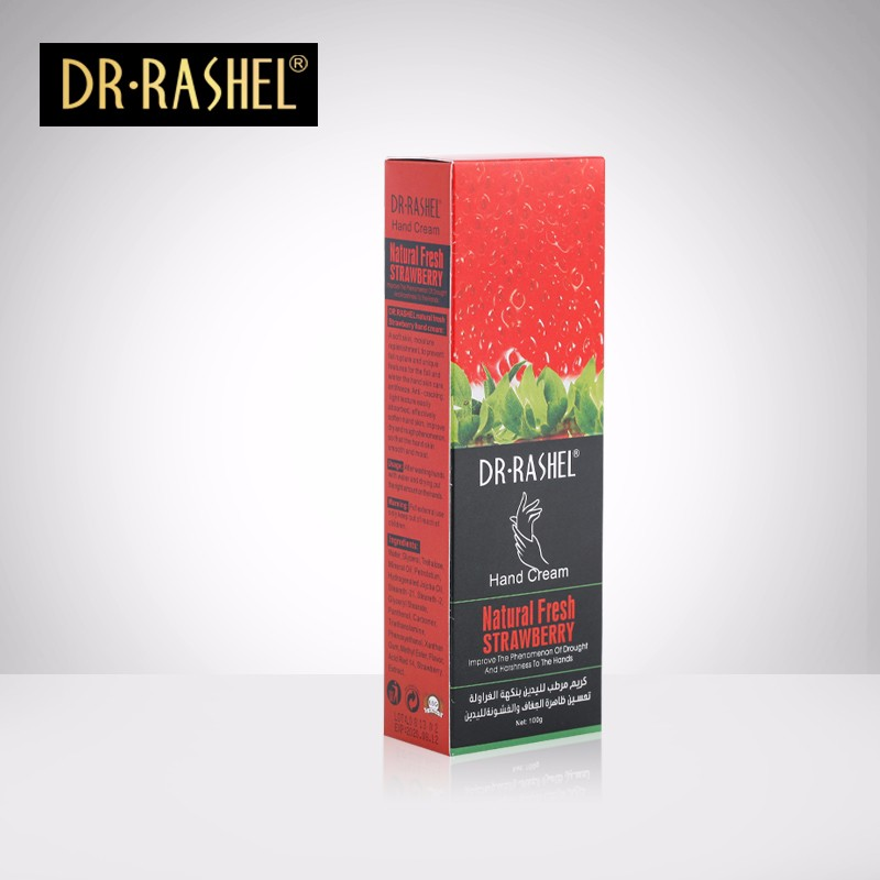 DR-RASHEL Hand Cream Natural Fresh Strawberry