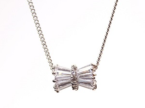 Silver Sylinder Wrap Necklaces