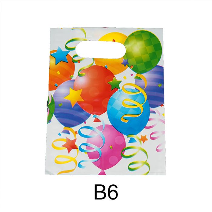 Birthday Plastic bag /Gift Plastic Bag -Small (17Cm x 22Cm)