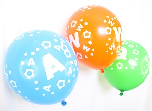 Colorful ABC Balloons for Birthday -100Pcs