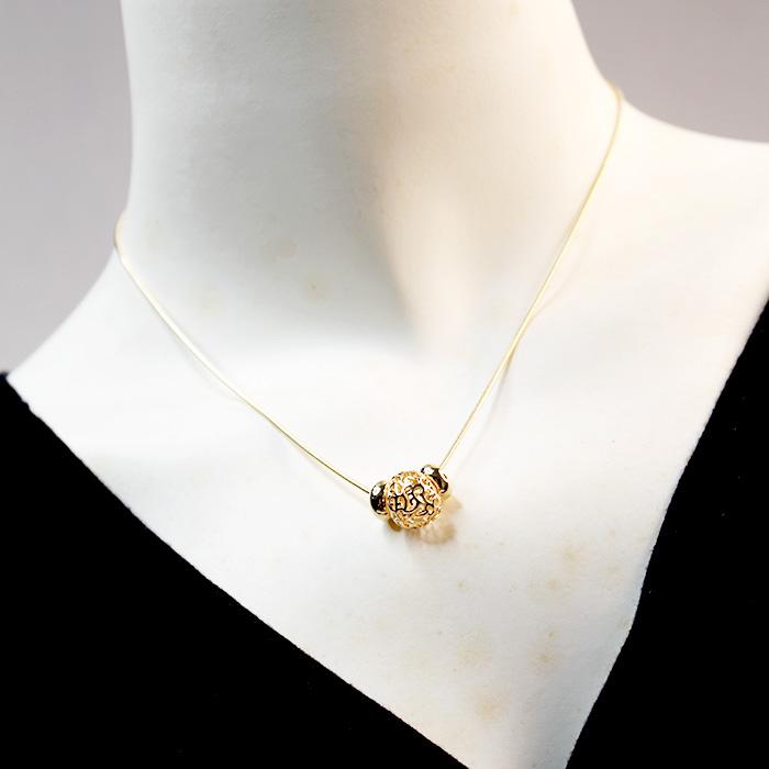 Happy Life Necklaces 24k Gold