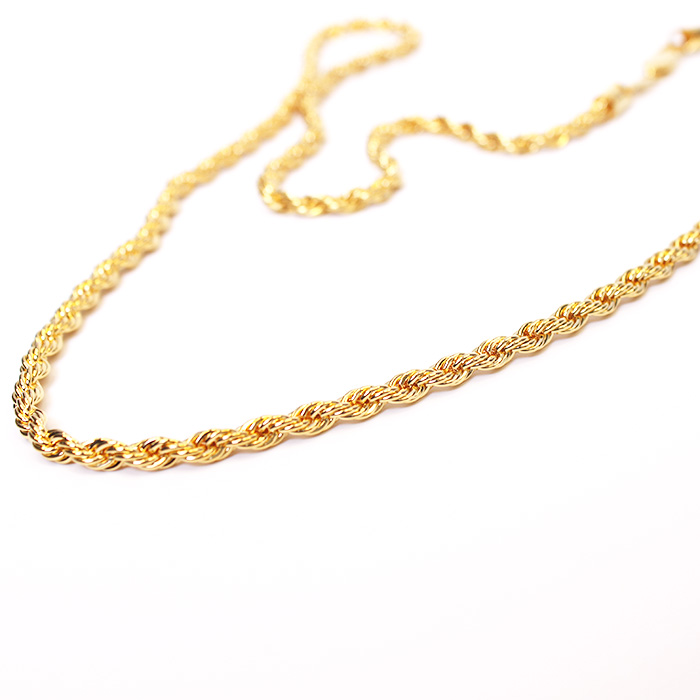 24k  Simple Round Necklaces