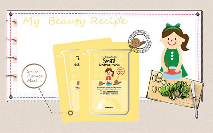 My Beauty Recipe Snail Essence Mask