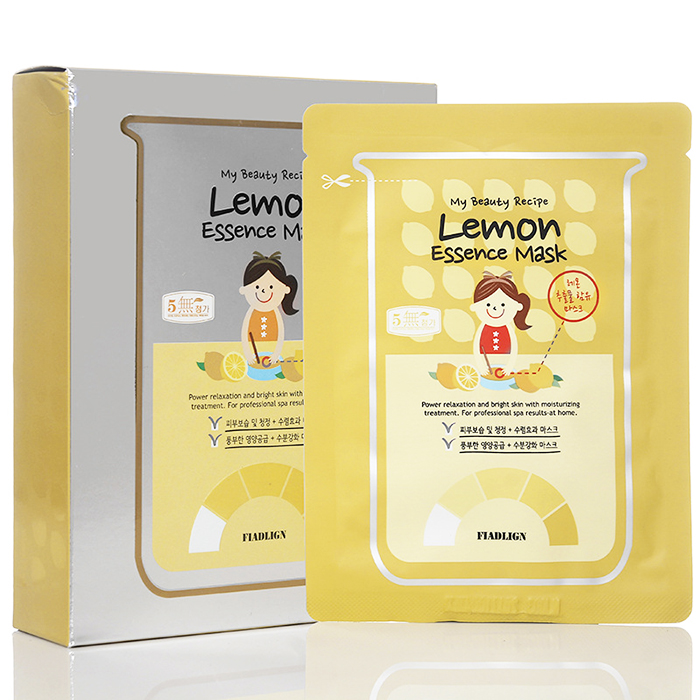 My Beauty Recipe Lemon Essence Mask