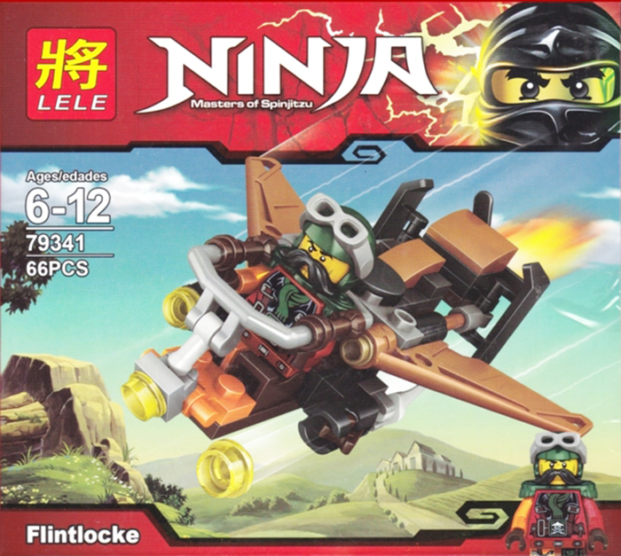 Lele Building Block Ninja