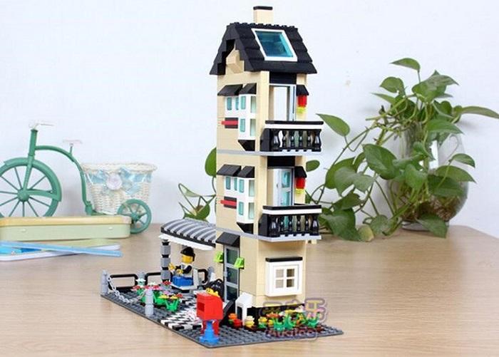 WANGE Building Blocks Toy Villa Series No.32053