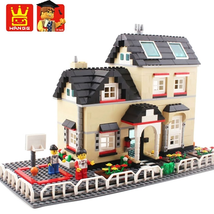 WANGE Building Blocks Toy Villa Series No.34052
