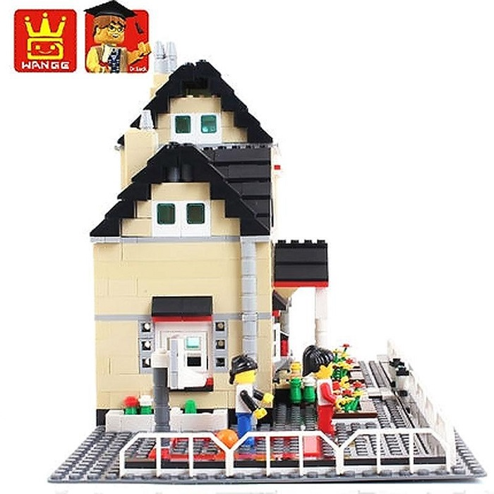 WANGE Building Blocks Toy Villa Series No.34052